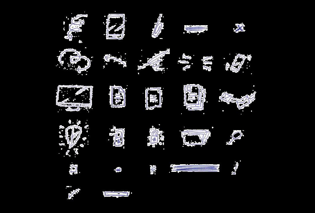 Iconen binnen de verhuurtbeter huisstijl
